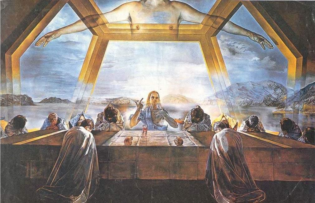 САЛЬВАДОР ДАЛИ.Salvador Dali.Только духовные ОБРАЗЫ могут спасти ...